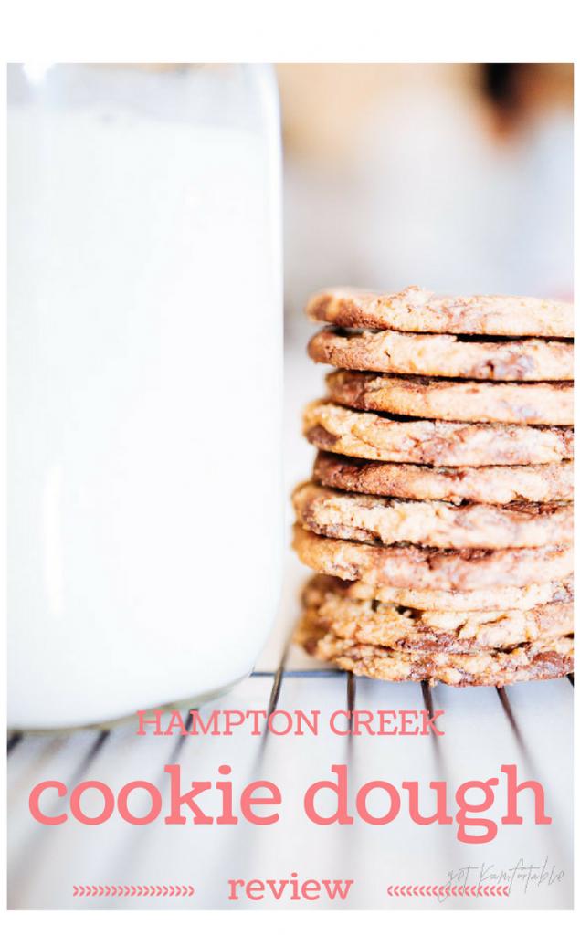 Hampton Creek Just Cookie Dough Review. Quick and easy vegan cookies.