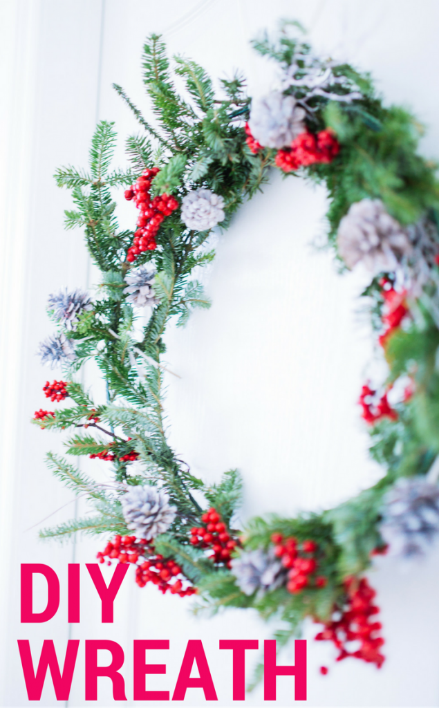 DIY best ever holiday wreath