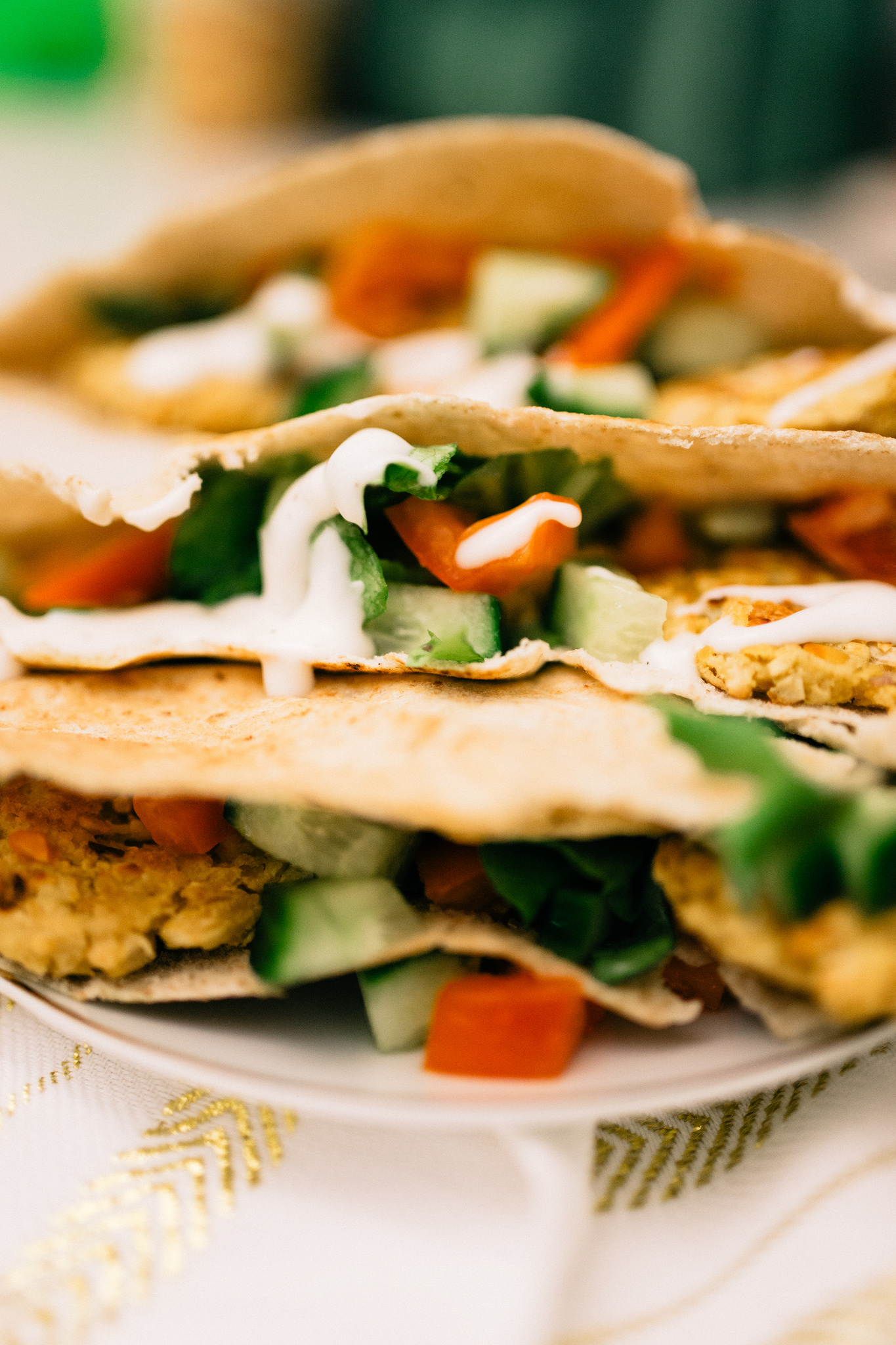 baked vegan falafel recipe