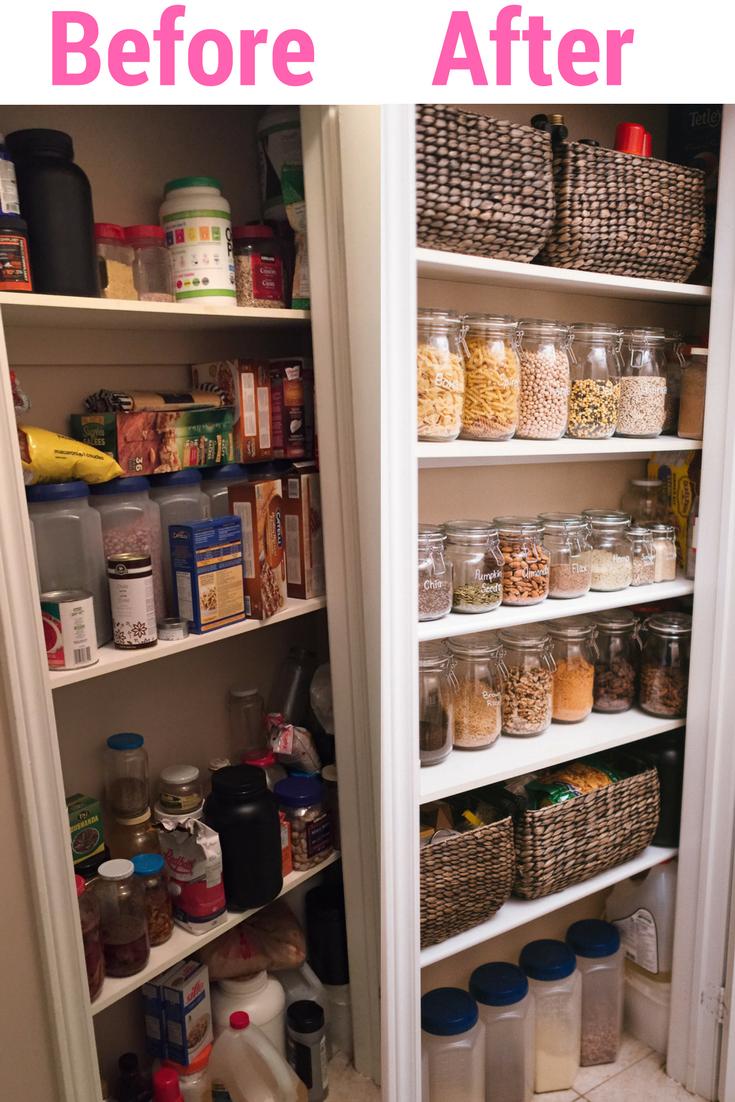 budget pantry organization