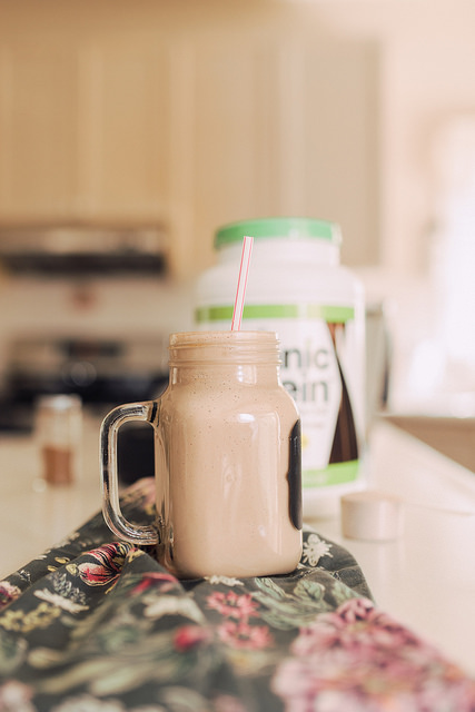 Orgain Protein Powder Smoothie