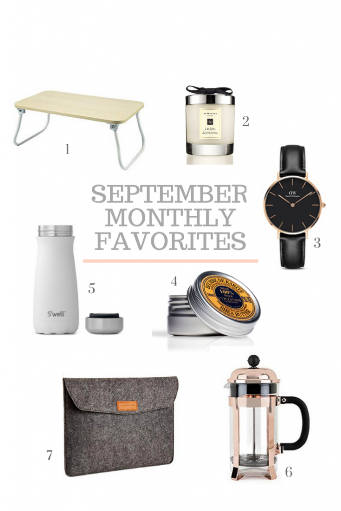 September 2018 Montly Favorites - monthly favorites