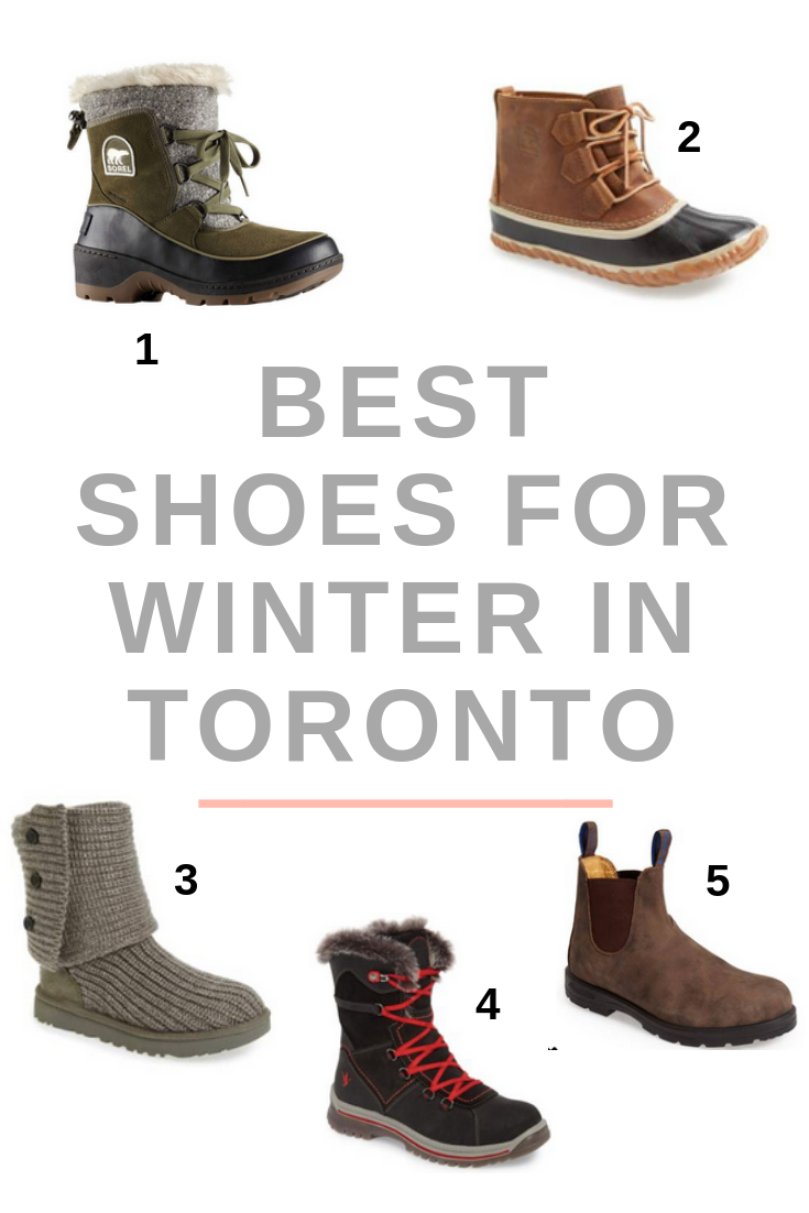 Best Shoes for Winter in Toronto