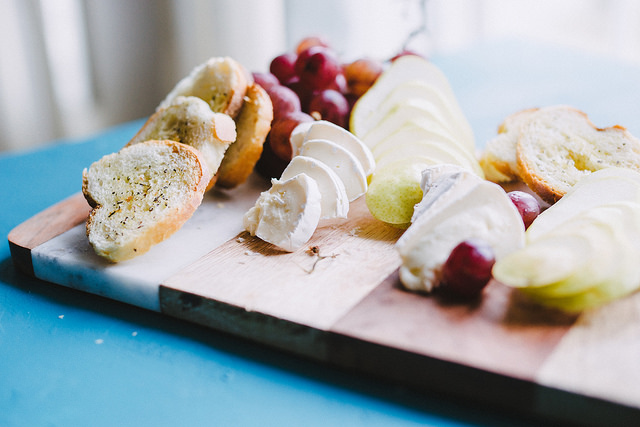 brie cheese board