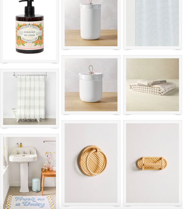 Beautiful Budget Bathroom Accessories
