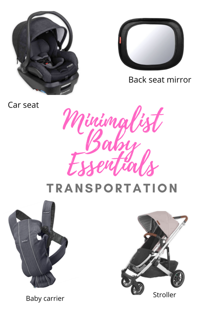 minimalist baby essentials